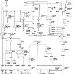 1991 Honda Accord Wiring Diagram Bow Origami For 1995 All Data Auto Zone Diagrams Ex 1988