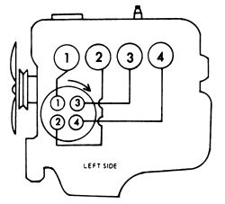 93 Toyota 22re firing order