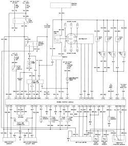 1995 toyota 4runner wiring diagram ezgoo interior data schema repair guides diagrams autozone com 1996