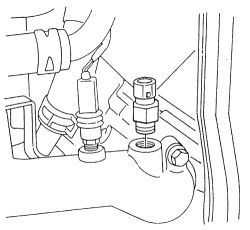 Isuzu Amigo Camshaft Position Sensor RPM Sensor Wiring