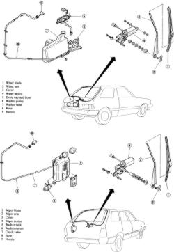 Windshield Wiper Wiring Diagram For 1966 Ford Mustang 1966