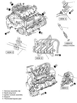 1965 Corvair Diagram Engine, 1965, Free Engine Image For