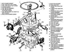 Rochester Model 220 Tbi Fuel Pressure Regulator, Rochester