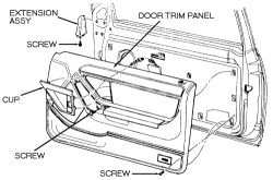 Service manual [1992 Mercury Cougar Clutch Pedal Removal