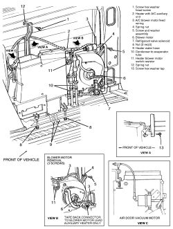 1993 Chevrolet Truck K1500 Blazer 4WD 5.7L TBI OHV 8cyl