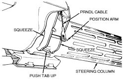 HowToRepairGuide.com: how to take apart steering shaft and