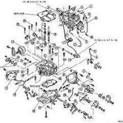Mazda B2200 Carburetor Diagram Harley Ignition Switch Wiring Repair Guides Carbureted Fuel System Autozone Com Click Image To See An Enlarged View