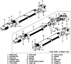 1979 Ford Truck F350 1 ton P/U 4WD 6.6L 2BL OHV 8cyl