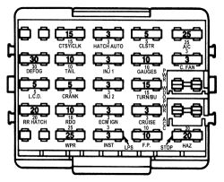 1982 Corvette Fuse Block. Corvette. Wiring Diagram Images