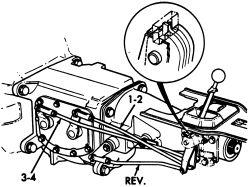 Corvette Borg Warner T10 Transmission Identification