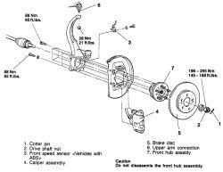 1997 Dodge Stratus: the tires are..rear wheel..wheel