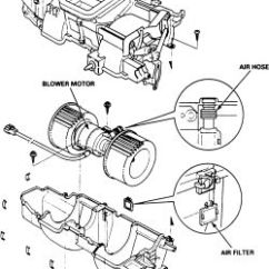 2003 Ford Taurus Stereo Wiring Diagram 1999 Suzuki Intruder 1500 Repair Guides Heating And Air Conditioning Blower Motor Click Image To See An Enlarged View