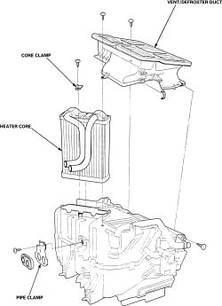 Solved: How to replace Heater Core on Acura Car models?
