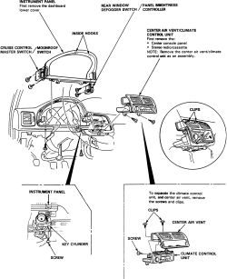 Solved: How to replace Instrument Cluster on Acura Car Models?