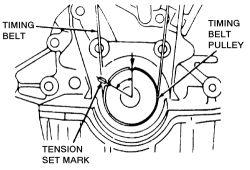 1994 Ford escort wagon timing belt