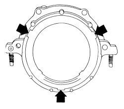 96 Silverado 1500: I replace the rear main seal..5.3L