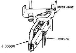 Chevrolet Silverado 1500 how do I remove driver side door