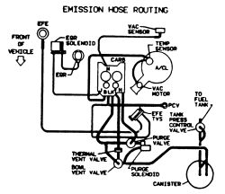 Carburetor Diagram For 1987 Mazda B2200, Carburetor, Free