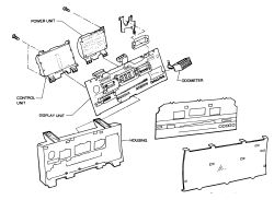 1993 Chevrolet Truck S10 Blazer 4WD 4.3L FI OHV 6cyl