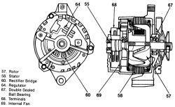 Delco 3 Wire Alternator Wiring Diagram, Delco, Free Engine