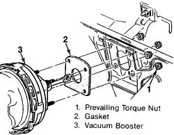 Service manual [Removing Vaccum Booster Hose On A 1996 Geo
