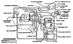 Oldsmobile 350 Vacuum Diagram Cadillac Vacuum Diagram
