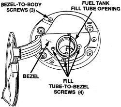 99 dodge: replace fuel..fuel tank strap (cracked)..fuel filter