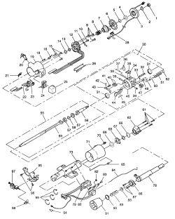 1968 Camaro Steering Column Wiring Diagram : 42 Wiring