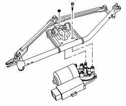 2008 Saturn Vue Wiper Motor Diagram, 2008, Free Engine