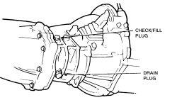 2000 Nissan maxima manual transmission drain plug