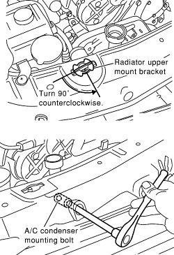 HowToRepairGuide.com: how to replace radiator on infiniti