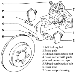 Disk Brake System Diagram. Engine. Wiring Diagram Images