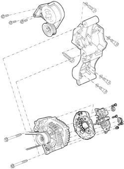 VW Jetta: 2003 Jetta 1.9 alternator removal