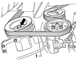 HowToRepairGuide.com: How to remove Drive Belts on 2002 VW