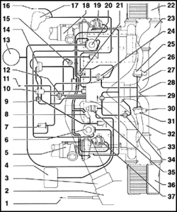 bosch internal regulator alternator wiring diagram recessed can light repair guides vacuum diagrams autozone com click image to see an enlarged view