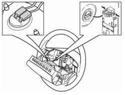 2004 Volvo XC90 T6: the steering wheel to replace it for