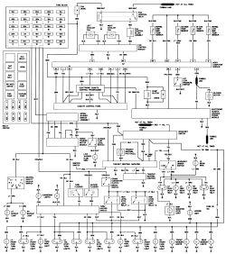 1985 Cadillac Fleetwood Wiring Diagram 1985 Cadillac De