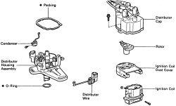 Toyota replace crankshaft position sensor on 1995 Toyota Camry