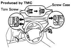 how do you replace the wiper switch on a 1993 toyota camry