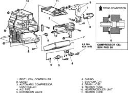 How to replace the blend box door motor 2003 Galant