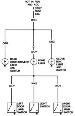 model a ford wiring diagram electrical home repair guides diagrams autozone com click image to see an enlarged view