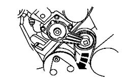 2001 ford f-150: 5.4 engine..alternator..the belt loose