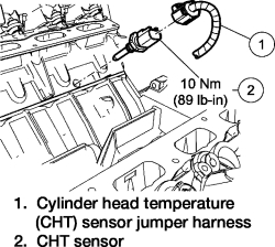 Ford F150 2000 4 2 Coolant Temperature Sensor Diagram