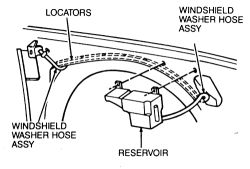 Service manual [Removing Windshield Washer Pump On A 1989