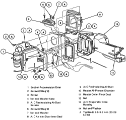 Need to replace heater core on 99 Grand Marquis. Need