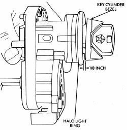 Service manual [1993 Chrysler Town Country Ignition Switch