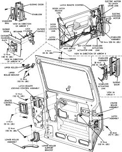 [1995 Chrysler Town Country Door Handle Repair Guide