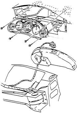 1998 Buick Century: odometer..The digital speedometer