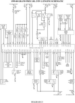 2005 Pontiac Grand Am: Wiring Diagram Factory Wiring