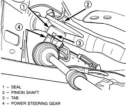 How to replace rack and pinion on a Dodge Neon?
